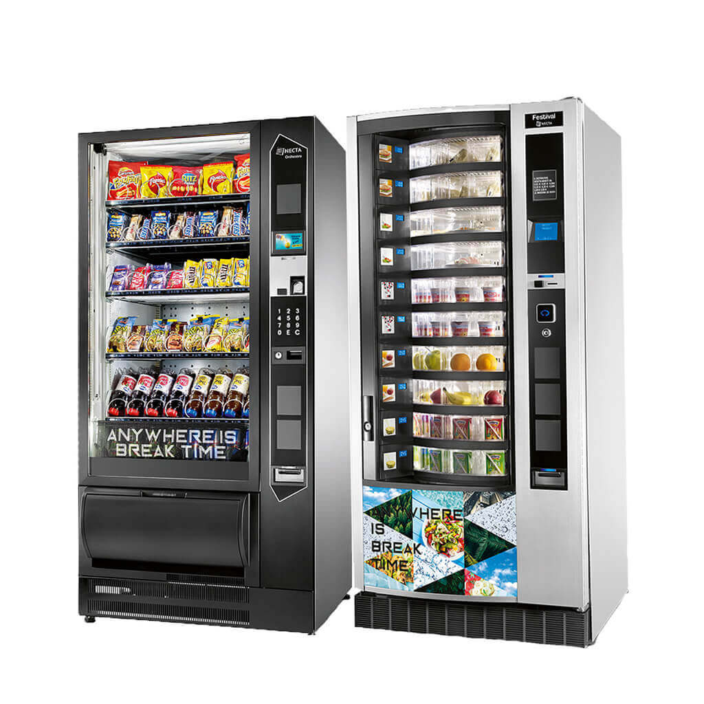 Snackautomata, szendvicsautomata, ételautomata